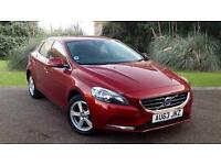 Volvo V40 SE 1.6T3 PETROL MANUAL 5 DOOR RED 2013