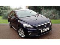 Volvo V40 2.0 D2 Diesel Cross Country Lux Automatic 5 Door Hatch Blue 2016