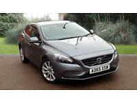 Volvo V40 1.6D2 SE LUX 5 DOOR HATCHBACK MANUAL GREY 2015