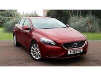 Volvo V40 D2 SE LUX 1.6D 5dr 2015 Automatic Red HATCHBACK
