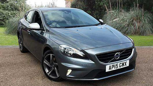 volvo v40 2 0 t2 122bhp s s 2016my r design osmium grey met in saxmundham suffolk. Black Bedroom Furniture Sets. Home Design Ideas