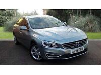 Volvo S60 2.0D4 SE Lux Nav Manual 4 Door Saloon Silver 2016