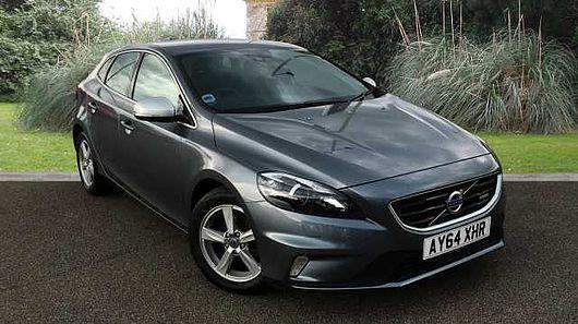 volvo v40 d2 r design lux nav 1 6 diesel manual 5 door hatchback grey 2014 in woodbridge. Black Bedroom Furniture Sets. Home Design Ideas