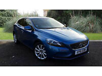 Volvo V40 2.0D2 SE Lux Manual 5 Door Blue 2016
