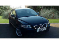 Volvo S40 1.6DRIVe SE Lux Manual 4 Door Saloon Black 2010