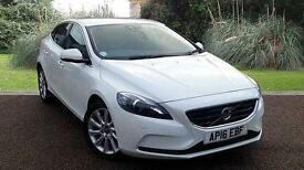 Volvo V40 SE LUX 2.0TD D3 Manual 5 Door White 2016