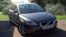 Volvo S40 1.6D DRIVe SE 4 Door Saloon Manual 2009 Grey