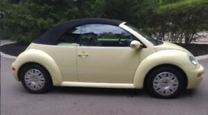 2004 Volkswagen Beetle Convertible (Rare find like this)