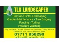 Tlg landscapes operate in and around york and the surrounding areas.
