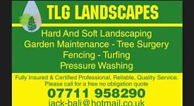 TLG landscapes! Book now to recieve 10% off your total bill!!