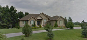 Newer 3 bedroom Bungalow on 2 acres of land in Stouffville. RARE