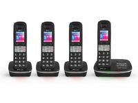 BT8500 Quad Digital Cordless phones with Advanced call blocker and Answer Machine