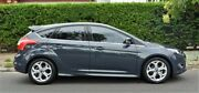 2014 Ford Focus LW MKII Sport PwrShift Midnight Sky 6 Speed Sports Automatic Dual Clutch Hatchback Medindie Walkerville Area Preview