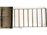 Steel Heavy Duty Window Divider for Use between Stables Professionally made Fully Galvanised
