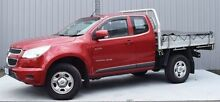 2012 Holden Colorado RG MY13 LX Space Cab Red 6 Speed Sports Automatic Cab Chassis Invermay Launceston Area Preview
