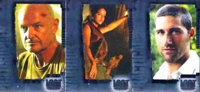 LOST REVELATIONS - FOIL BOX LOADER - INSERT CHASE CARD SET OF 3