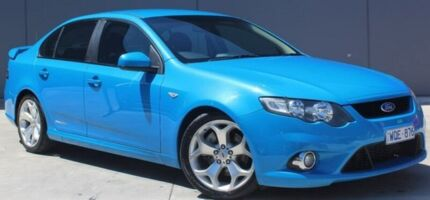 2008 Ford Falcon FG XR6 Turbo Blue 6 Speed Sports Automatic Sedan