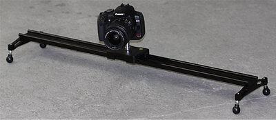 100cm Heavy Duty Camera / Camcorder / Video Light Slider Motion Movie Stabilizer