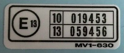 AFRICA TWIN XRV750 RD04 1990-1992 RESTORATION DECAL SET 5