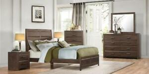 TWIN SOLIDWOOD BEDROOM SET GRAND  SALE (ND 118 )