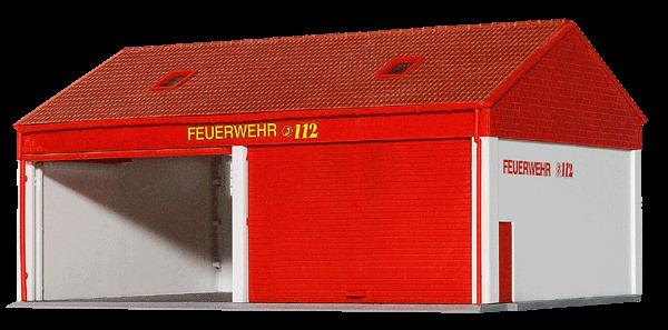 Kibri H0 38542 Kleine Feuerwehrgarage