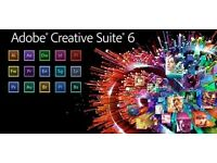 Adobe Master Collection 6 for Windows / Macbook / Imac