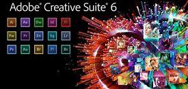 Adobe Master Collection CC / CS6 for Mac / Imac / Windows