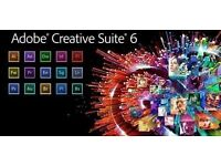 Adobe Master Collection CS6 2016 for Windows / Macbook / Imac