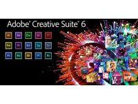 Adobe Master Collection CS6 for Windows / Macbook / Imac / Mac