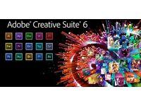 Adobe Master Collection CS6 for Windows / Macbook / iMac