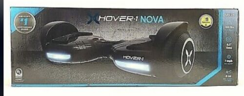 Hover-1 Nova Scooter , LED Wheels, LED Headlights,160 Max Weight, 7 MPH, 6 Mil