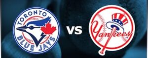 TORONTO BLUE JAYS NEW YORK YANKEES FRI-SUN JULY 4-6