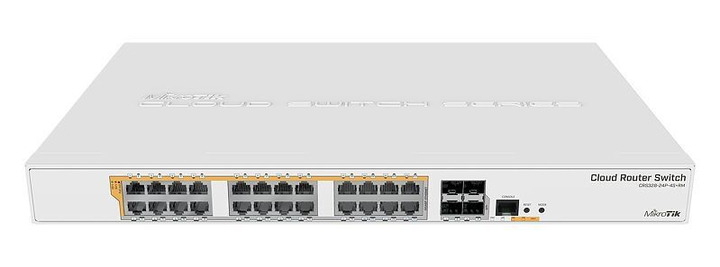 Mikrotik CRS328-24P-4S+RM 24 port Gigabit Ethernet router/sw