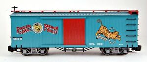 Bachmann-G-Scale-Train-1-22-5-Ringling-Brothers-Circus-Tiger-Box-Car-92715