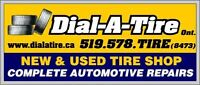 BUY YOUR TIRES ONLINE! www.dialatire.ca Large inventory in stock Kitchener / Waterloo Kitchener Area Preview