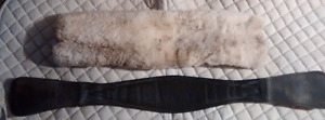 Schleese girth & sheepskin girth cover