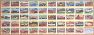1992 PANINI ACTION 2ND COLLECTOR EDITION DREAM CARS 100 CARD SET