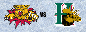 Mooseheads vs Moncton Nov 04   4 Tickets Lower Bowl