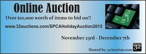 Over $10,000 Worth of Items on the SPCA Online Auction