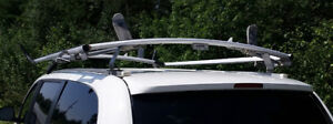 Double Clamp Ladder Roof Rack by Ranger Design