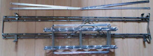 Galvanized Metal Standing Wine Rack Holds 50 Bottle Wine Storage Stratford Kitchener Area image 8
