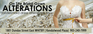 Whitby Bridal / Evening Gown Alteration