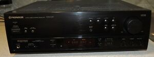 PIONEER VSX-305 RECEIVER & 25 DISC CD PLAYER&5PIONEER SPEAKERS
