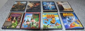 Assorted Comedy, Action, Drama, Animated, Thriller DVD's