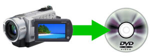 Service for creating DVD from moviefiles of HD camcorders.