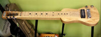 Lap Steel Guitar with legs & carrying bag. ON SALE!