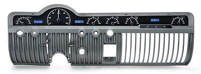 Dakota Digital 50 51 Mercury Car Analog Dash Gauges Kit Black Blue VHX-50M-K-B
