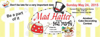 2nd Annual 'Mad Hatter Tea'!