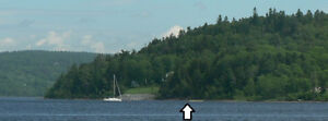 Beautiful waterfront lot on Saint John River