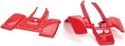 BANSHEE YFZ350 RED FRONT REAR FENDER PLASTIC MAIER BODYWORK YAMAHA 1986-2006 for sale  Shipping to Ireland